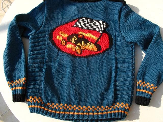 Fotis' jacket (back)