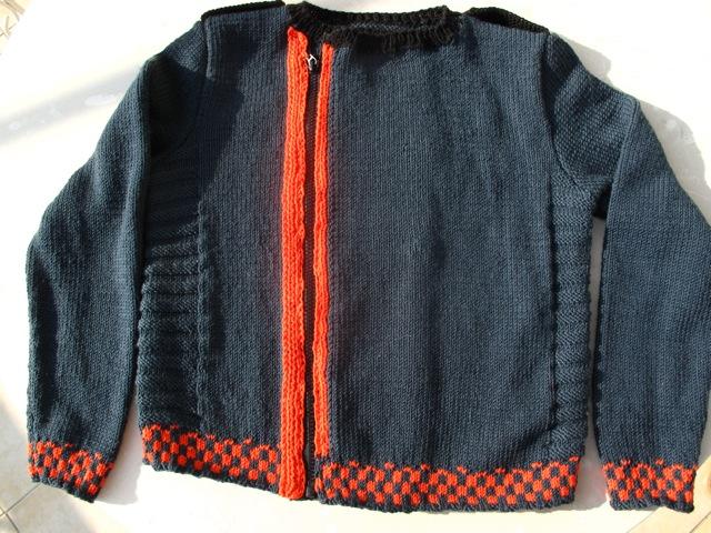 Yannis' jacket (front)